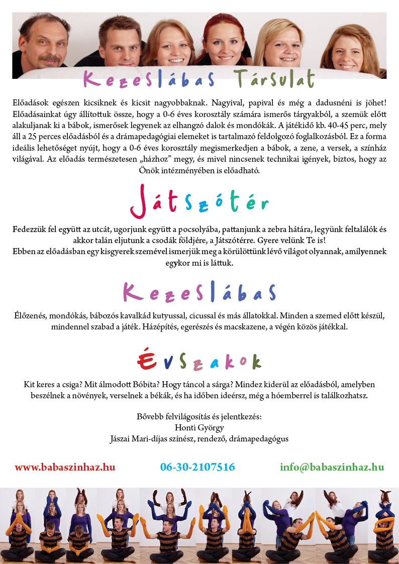 Szórólap 2014-15
